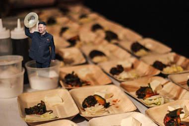Kim Jong Un Dinner Lab