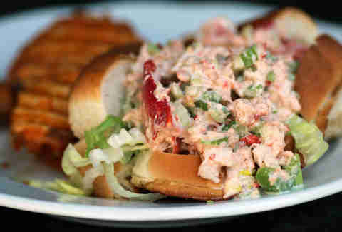Lobster roll at Charlie's Kitchen