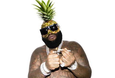 Rick Ross pineapple