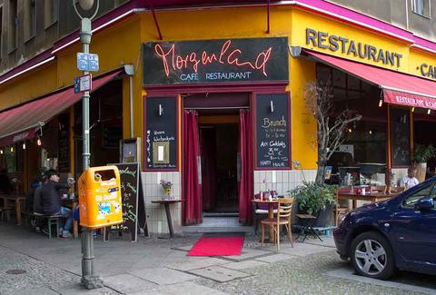 Exterior of Cafe Morgenland