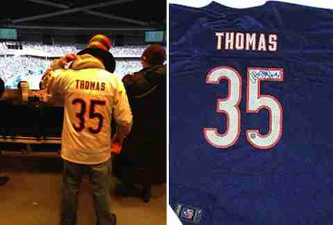 Anthony Thomas jersey