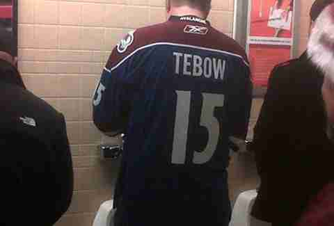 Tebow avalanche jersey