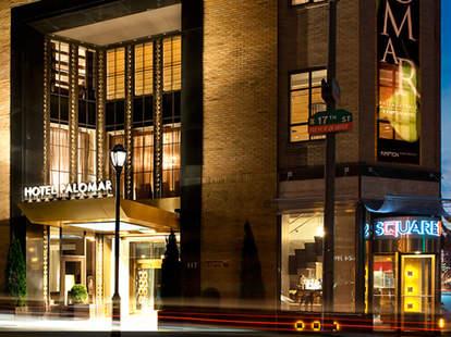 Square 1682 at the Hotel Palomar in Philadelphia