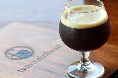 Barrel-Aged Rosemary's Red Devil at Fountainhead in North Center