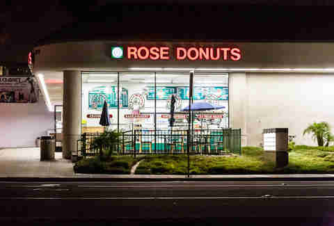 Rose Donuts in Linda Vista San Diego.