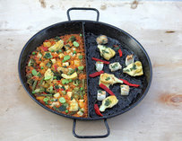 A duo of paella