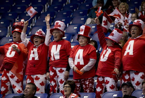 Wily Canadian sports fans.