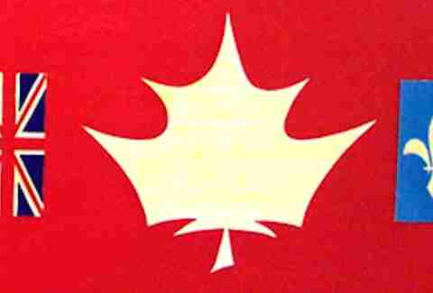 Would-be Canadian national flags.