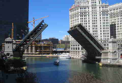 The Michigan Avenue Bridge