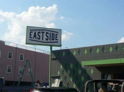East Side Social Club sign/exterior