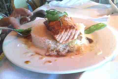 Cheesecake Factory's Miso Salmon