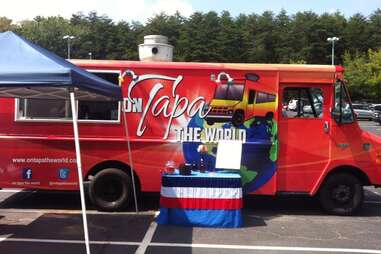 On Tapa The World food truck