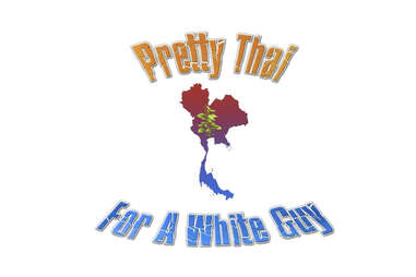 Pretty Thai For A White Guy logo