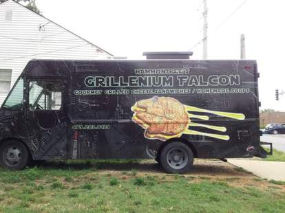 The Grillenium Falcon