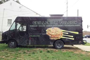 The Grillenium Falcon