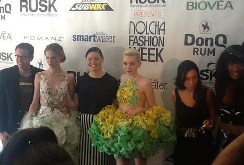 Project Subway NY Fashion Week red carpet