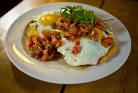 Huevos rancheros at CBS