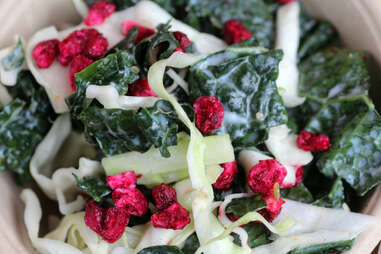 Kale and cabbage slaw at Honey Butter Fried Chicken in Avondale