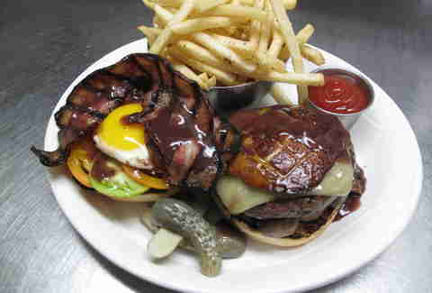 The Strip Club's Speakeasy Burger
