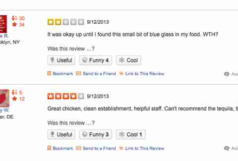 Los Pollos Hermanos Yelp reviews