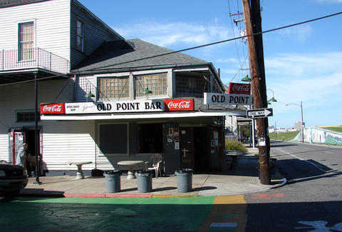 Exterior of Old Point Bar
