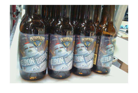 Iron Works beer from Metropolitan Brewery