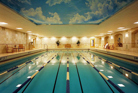 Pool at Life Time Athletic Club at The Grand Hotel Minneapolis