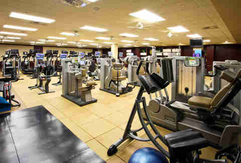 Fitness room at The Houstonian Hotel, Club & Spa