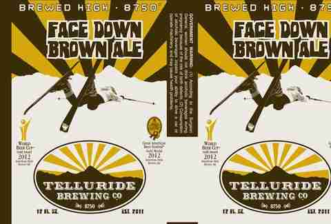 Telluride Brewing Company's Face Down Brown Ale