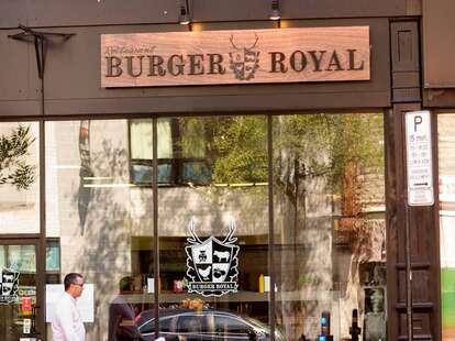 Exterior of Burger Royal