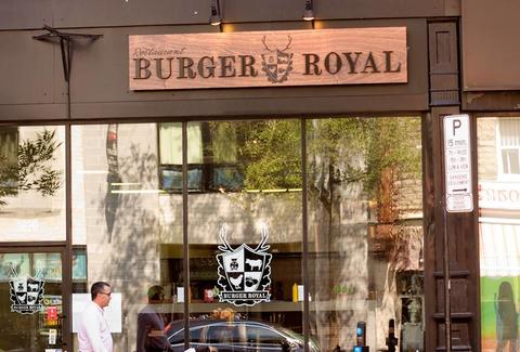 Exterior of Burger Royal