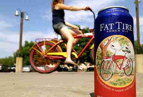 New Belgium Brewing Co fat tire