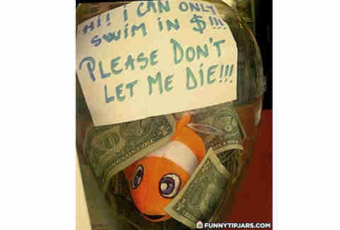 fish tip jar