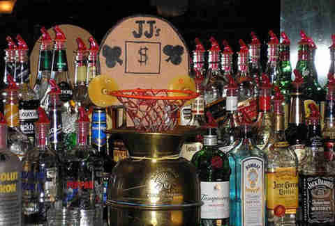 basketball tip jar