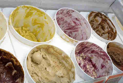 Flavors at Jeni's Splendid Ice Creams in Lakeview