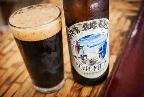 port brewing board meeting beer