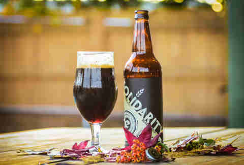 solidarity eagle rock english dark mild ale