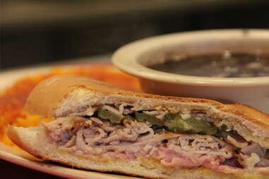 cuban plate - havana restaurant - atlanta