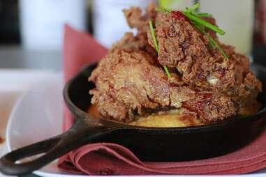 Fried Chicken at Bistro Marquee