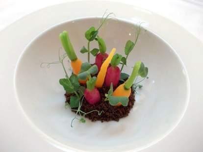Atelier vegetable plate