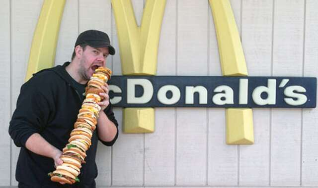 American hero puts every McDonald\'s sandwich on the McEverything