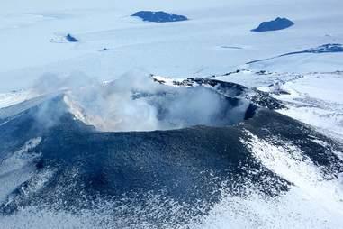 erebus on antarctica