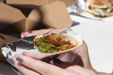 Korean Falafel - Flatiron Street Food NYC