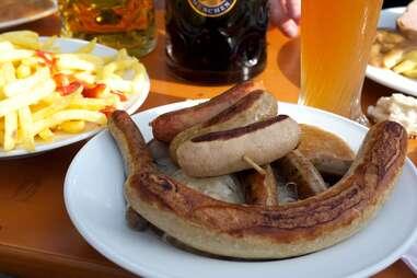 Munich sausages