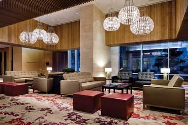 Luxurious room inside Shangri-La