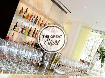 The bar at Ella