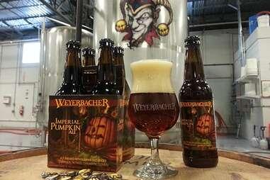 Weyerbacher Brewing Co's Imperial Pumpkin Ale
