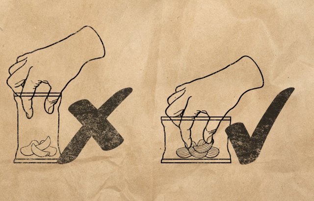 UK chips company realizes bags should be sideways to accommodate your giant greedy hands