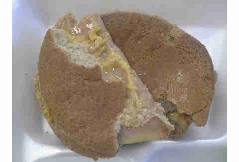 Hard Ham and Cheese Sandwich South Ridge High School