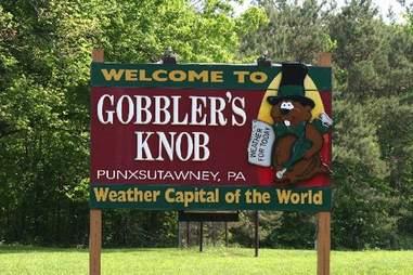 Gobbler's Knob, Pennsylvania